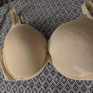 NWOT Tan Cacique Plunge Bra from Lane Bryant